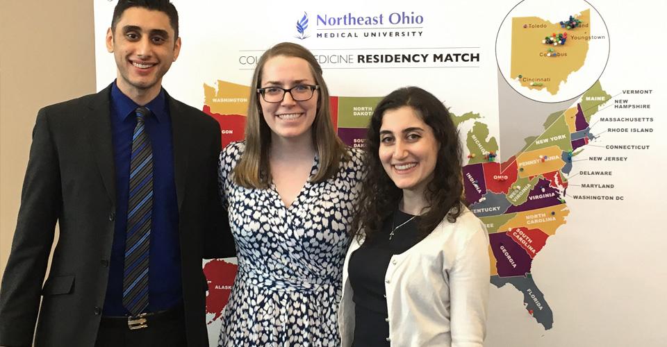 Match Day 2017   The Pulse   Northeast Ohio Medical University