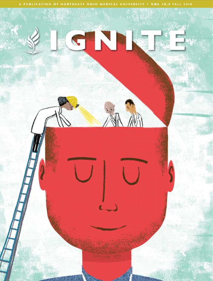 Ignite magazine fall 2018 cover