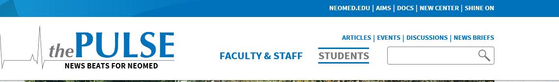 Pulse website header