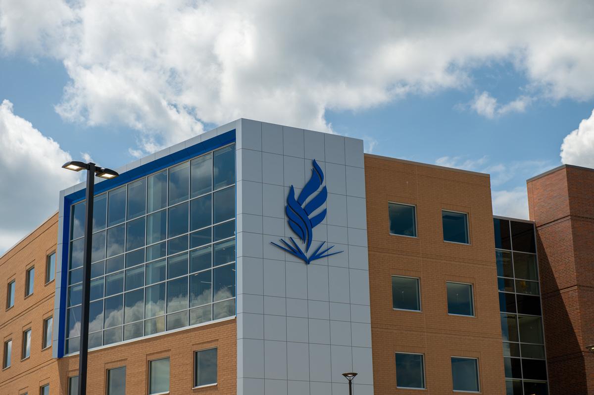 NEOMED Flame on Medical Office Building